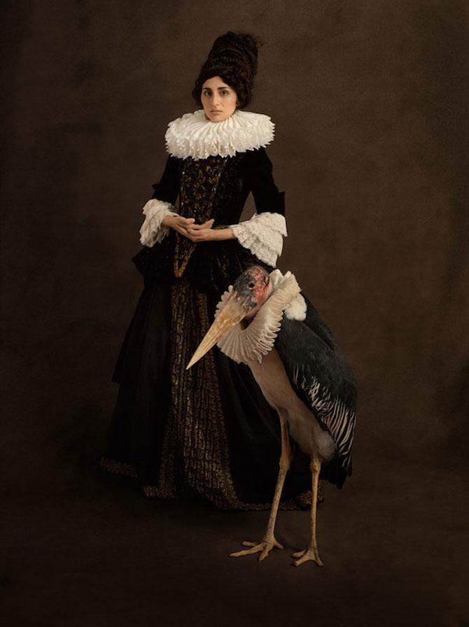 Rembrandt reinterpretat in fotografii de Sacha Goldberger - Poza 9