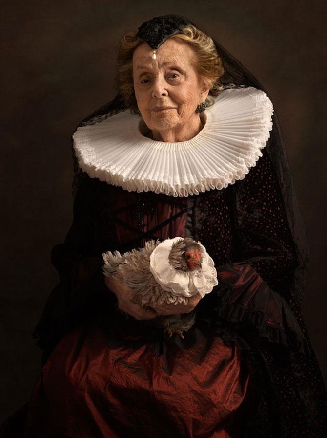 Rembrandt reinterpretat in fotografii de Sacha Goldberger - Poza 10