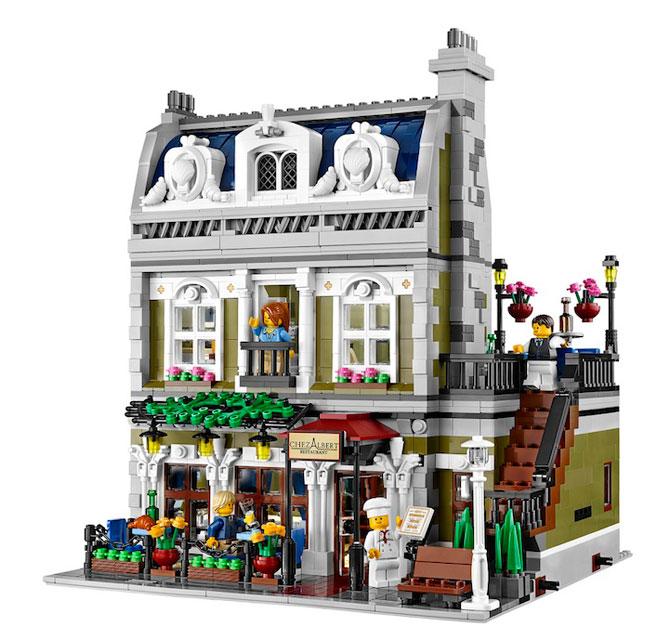 Restaurant parizian din mii de piese LEGO - Poza 1