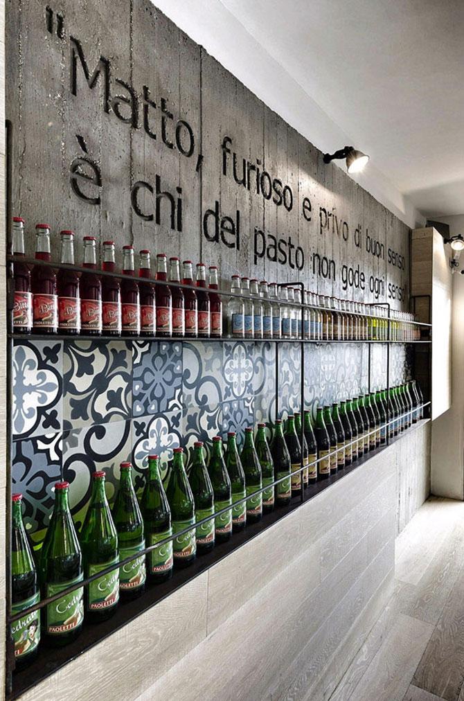 Restaurantul din Roma in care a crescut un copac - Poza 7