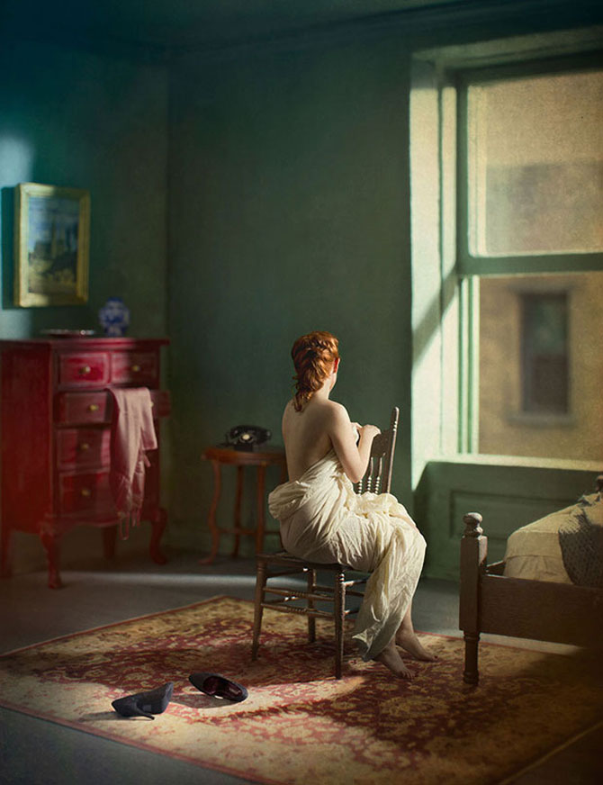 Picturi de Edward Hopper redate in fotografii superbe - Poza 4