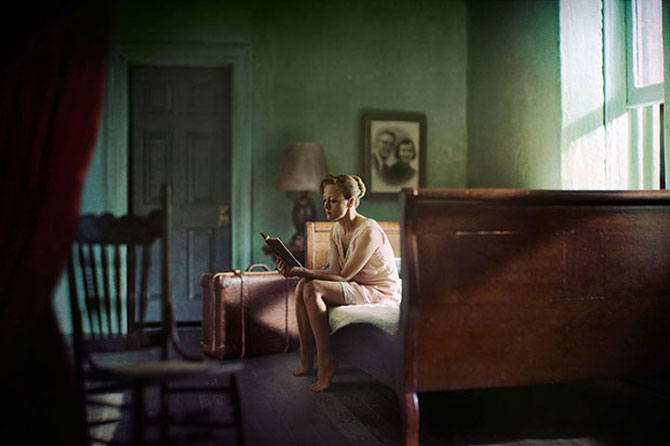 Picturi de Edward Hopper redate in fotografii superbe - Poza 8