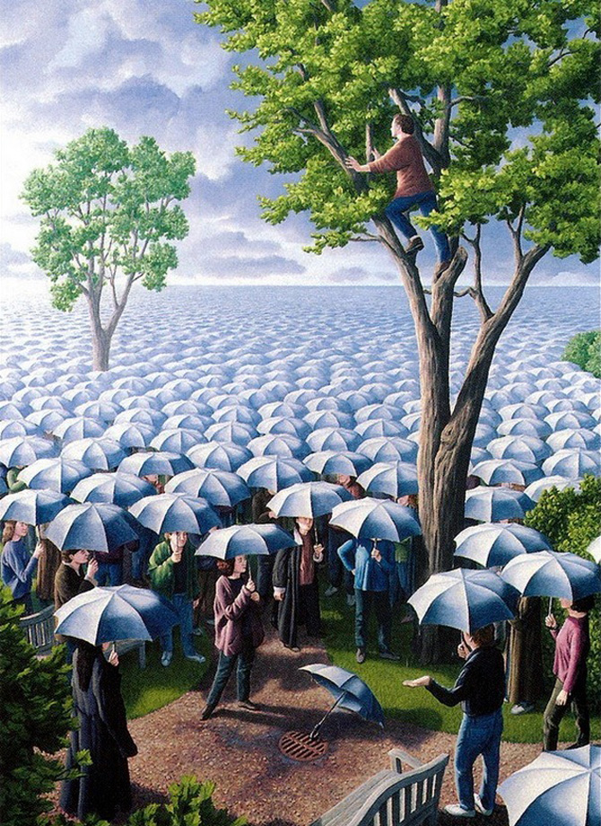 Iluzii optice si realism magic cu Rob Gonsalves - Poza 1