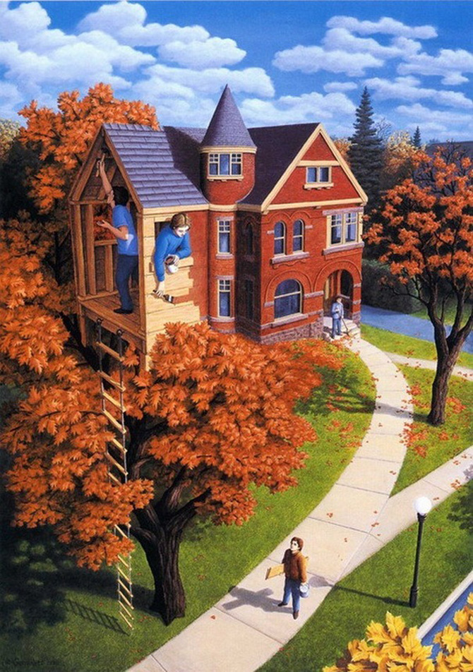 Iluzii optice si realism magic cu Rob Gonsalves - Poza 2