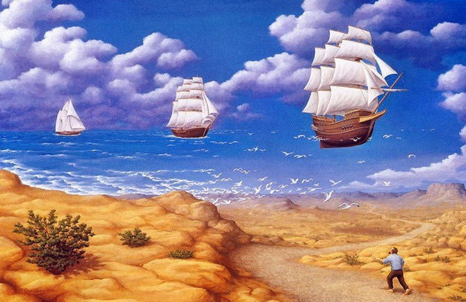 Iluzii optice si realism magic cu Rob Gonsalves - Poza 3