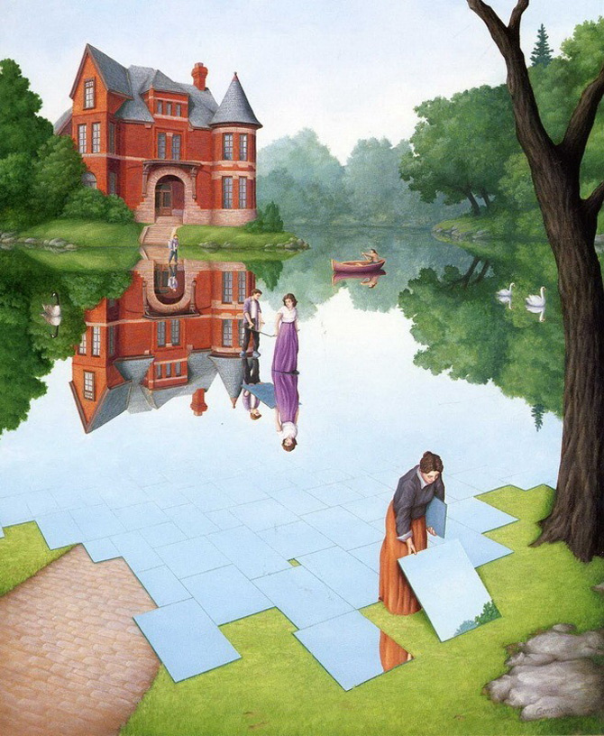 Iluzii optice si realism magic cu Rob Gonsalves - Poza 4