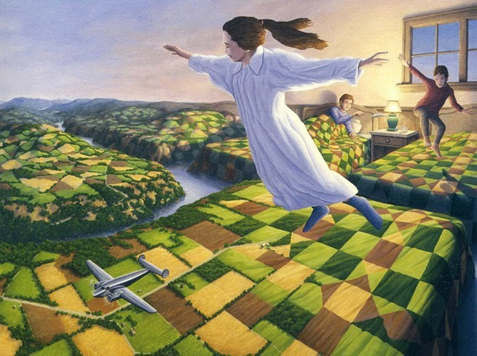 Iluzii optice si realism magic cu Rob Gonsalves - Poza 5
