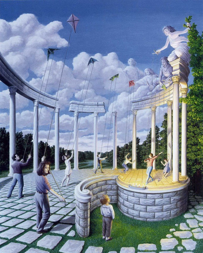 Iluzii optice si realism magic cu Rob Gonsalves - Poza 6