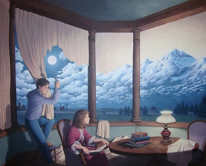 Iluzii optice si realism magic cu Rob Gonsalves - Poza 7