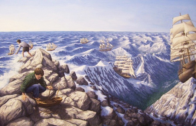 Iluzii optice si realism magic cu Rob Gonsalves - Poza 8