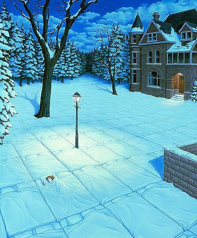 Iluzii optice si realism magic cu Rob Gonsalves - Poza 10