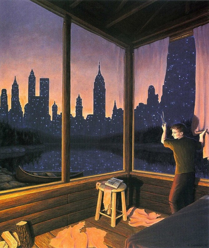 Iluzii optice si realism magic cu Rob Gonsalves - Poza 11