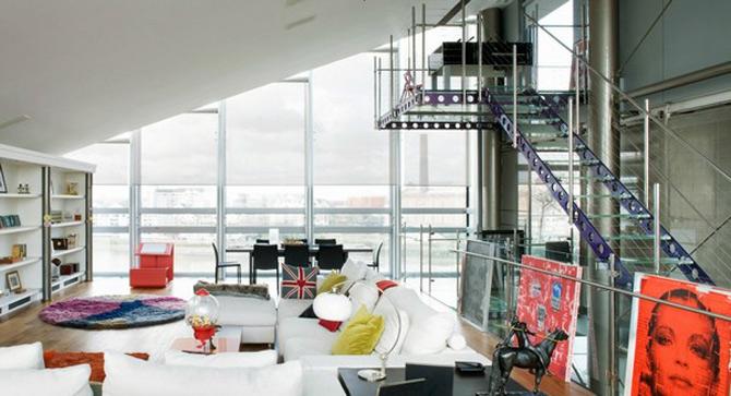 Vertij intr-un penthouse deasupra Londrei - Poza 1