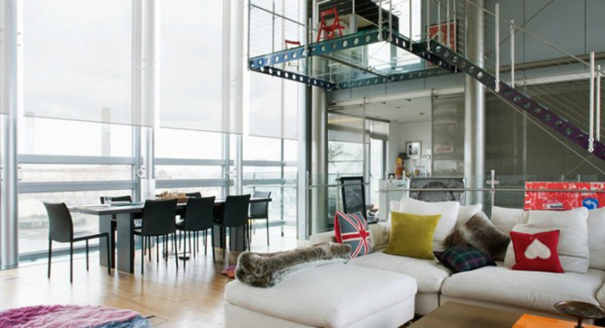 Vertij intr-un penthouse deasupra Londrei - Poza 9