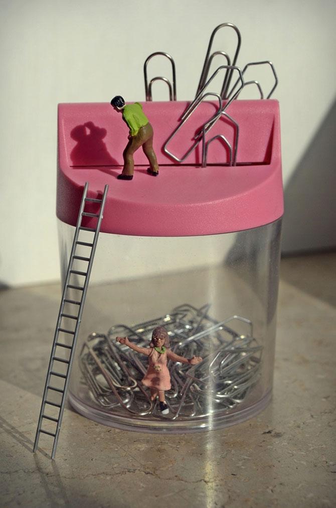 Viata la birou in miniaturi, de Bettina Guber - Poza 3