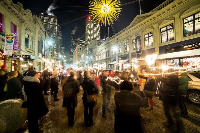 Soare in mijlocul noptii la Calgary, in Canada - Poza 1