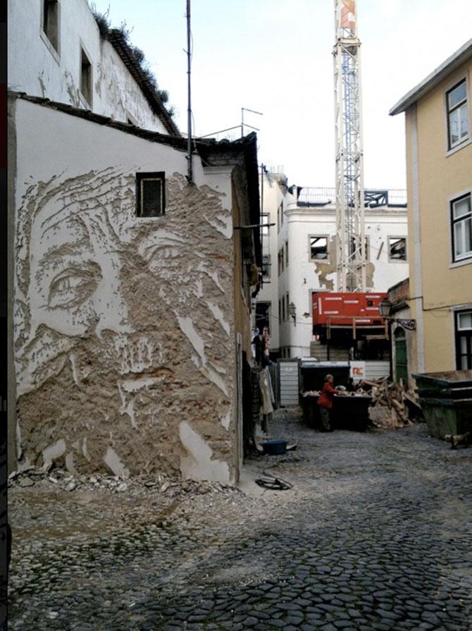 Portret in zid sau O lume fragila, dezvaluita cu ciocanul si cu dalta - Poza 3