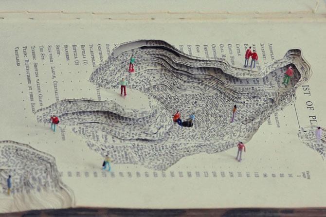 Peisaje textuale, sculptate de Kyle Kirkpatrick - Poza 2