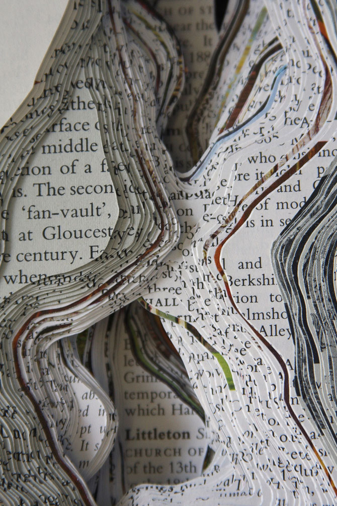 Peisaje textuale, sculptate de Kyle Kirkpatrick - Poza 5