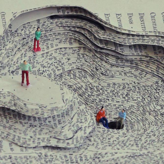 Peisaje textuale, sculptate de Kyle Kirkpatrick - Poza 6