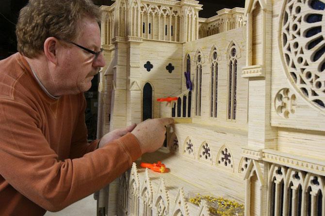 Sculptorul celor 3,5 milioane de bete de chibrit - Poza 2
