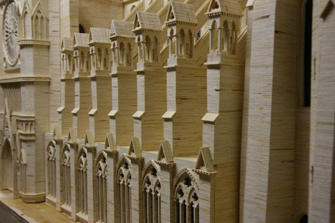 Sculptorul celor 3,5 milioane de bete de chibrit - Poza 3