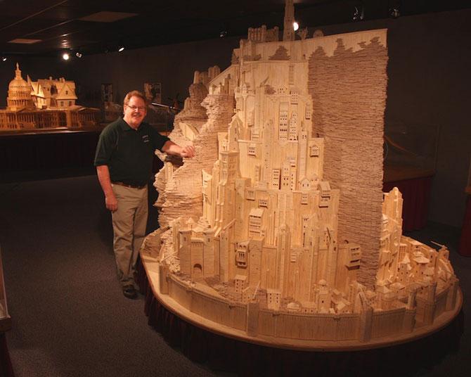 Sculptorul celor 3,5 milioane de bete de chibrit - Poza 7