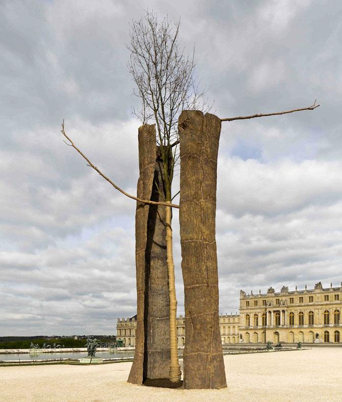 Sculpturi-copaci, in gradina de la Versailles - Poza 5