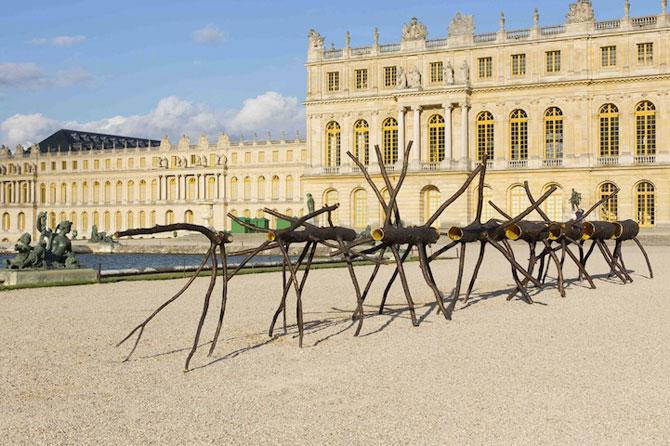 Sculpturi-copaci, in gradina de la Versailles - Poza 6