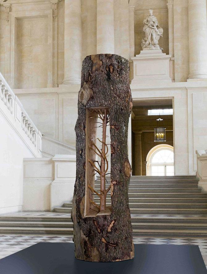 Sculpturi-copaci, in gradina de la Versailles - Poza 7