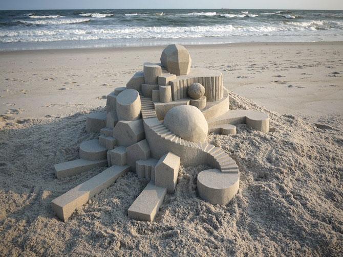 Geometrie sculptata in nisip de Calvin Seibert - Poza 1