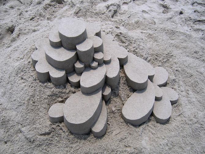 Geometrie sculptata in nisip de Calvin Seibert - Poza 3