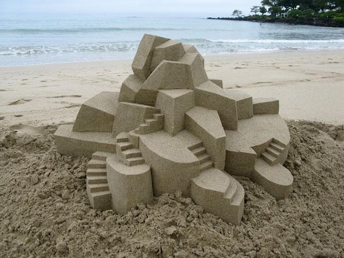 Geometrie sculptata in nisip de Calvin Seibert - Poza 5