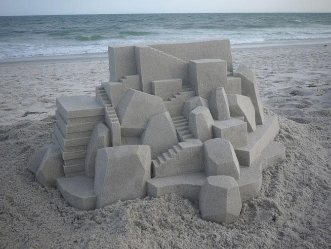 Geometrie sculptata in nisip de Calvin Seibert - Poza 7