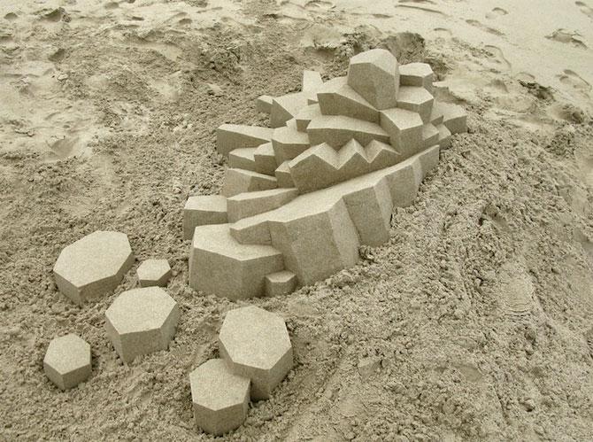 Geometrie sculptata in nisip de Calvin Seibert - Poza 8