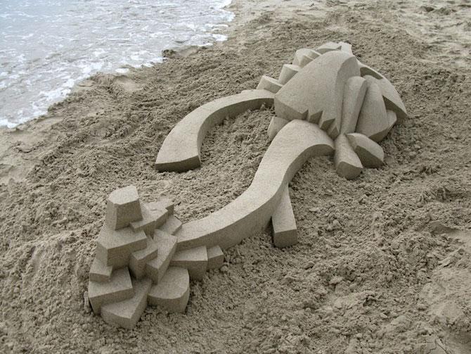Geometrie sculptata in nisip de Calvin Seibert - Poza 9