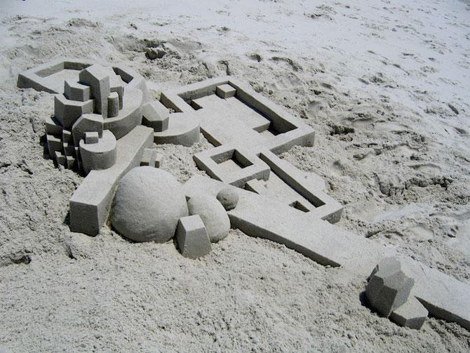 Geometrie sculptata in nisip de Calvin Seibert - Poza 10