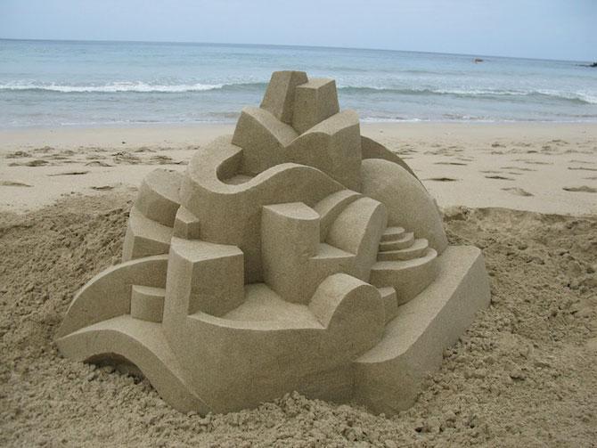 Geometrie sculptata in nisip de Calvin Seibert - Poza 11