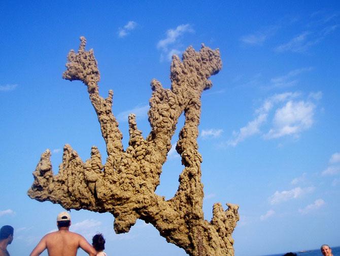Sculpturi de nisip care sfideaza gravitatia - Poza 7