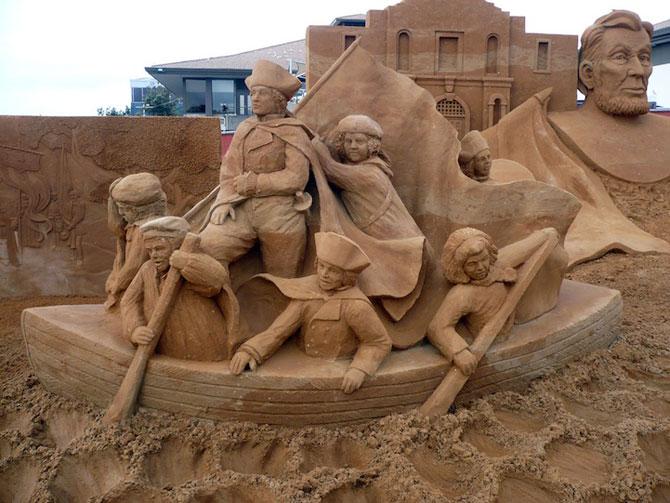 Sculpturi incredibile din nisip, de Susanne Ruseler - Poza 3