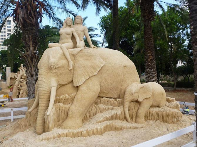 Sculpturi incredibile din nisip, de Susanne Ruseler - Poza 4
