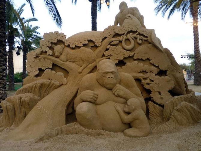 Sculpturi incredibile din nisip, de Susanne Ruseler - Poza 6