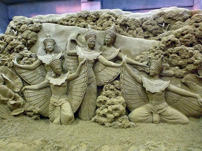 Sculpturi incredibile din nisip, de Susanne Ruseler - Poza 7