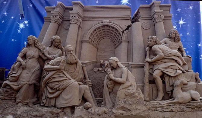 Sculpturi incredibile din nisip, de Susanne Ruseler - Poza 8