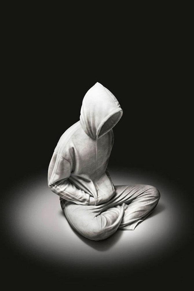 Sculpturi realiste din marmura, de Alex Seton - Poza 3