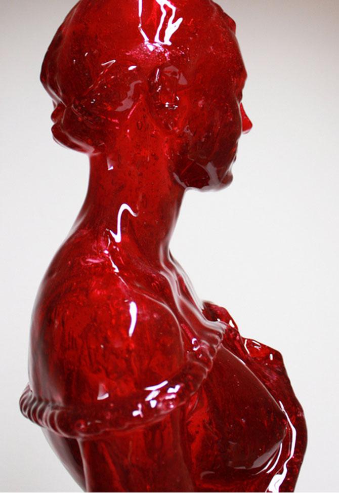Laura sculptata din zahar de Joseph Marr - Poza 1