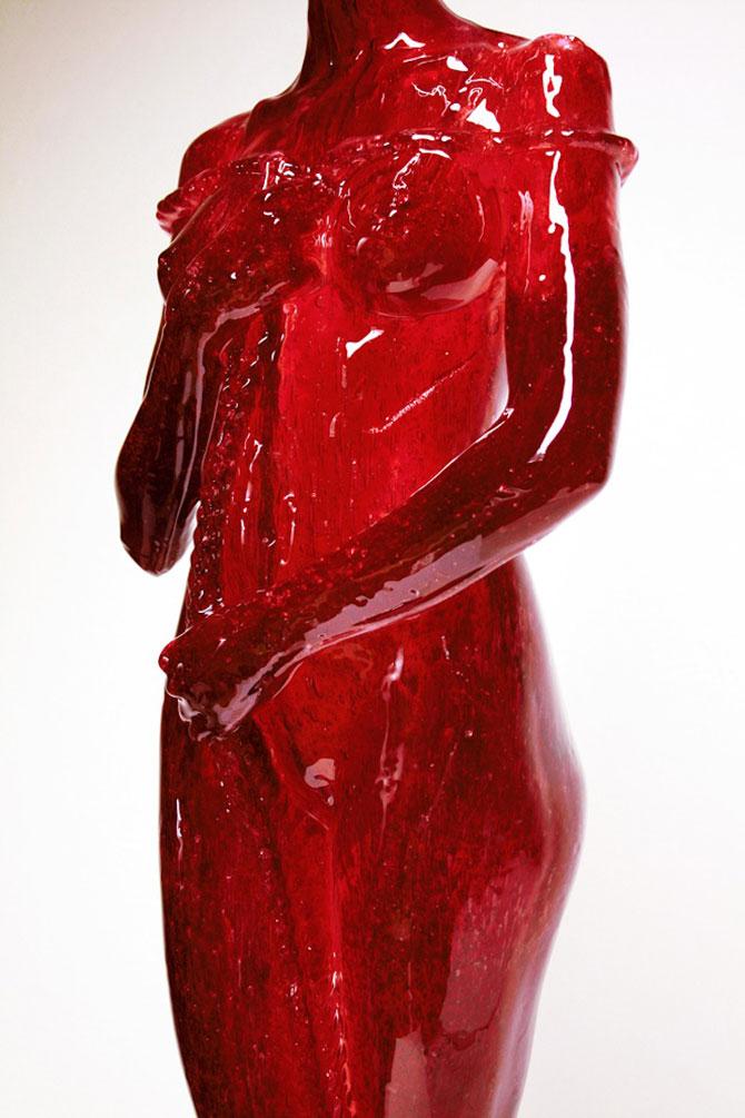 Laura sculptata din zahar de Joseph Marr - Poza 2