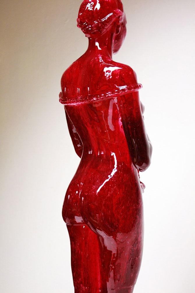 Laura sculptata din zahar de Joseph Marr - Poza 3