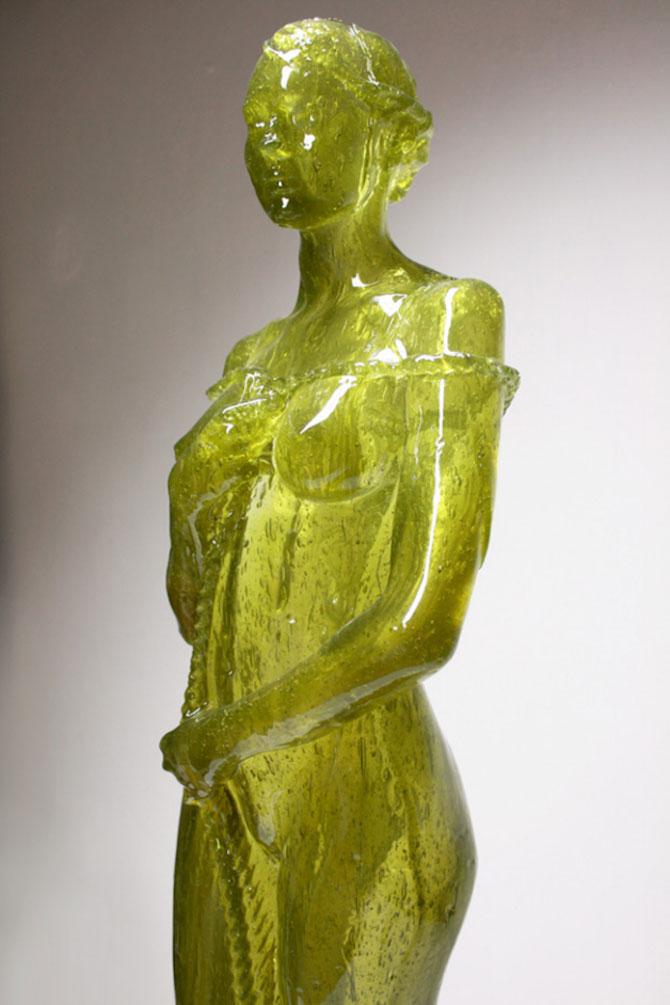 Laura sculptata din zahar de Joseph Marr - Poza 4