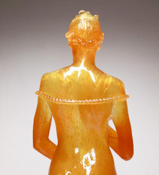 Laura sculptata din zahar de Joseph Marr - Poza 5